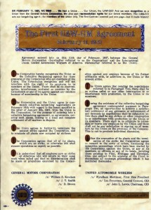 First United Auto Workers-General Motors Agreement 1937 (http://community-2.webtv.net/blacklava/contract/)